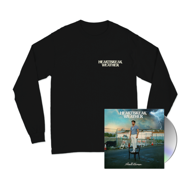 Niall Horan: CD & HEARTBREAK WEATHER BLACK LONGSLEEVE