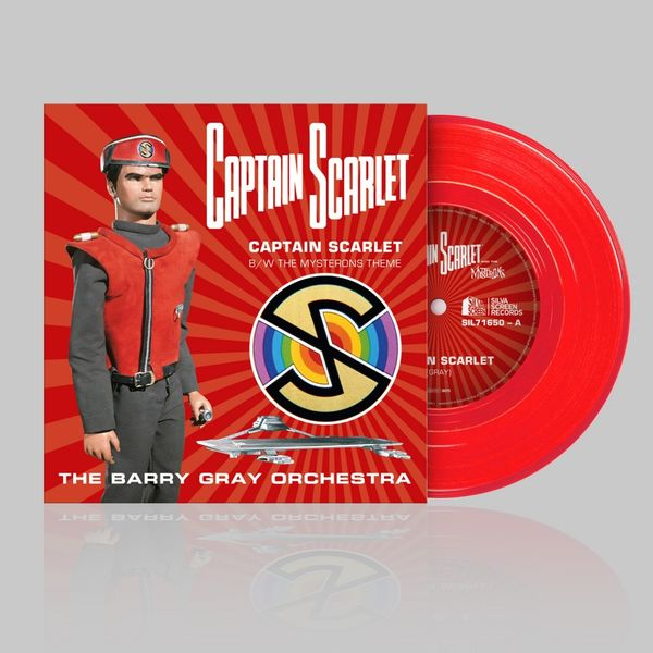 Gerry Anderson: Captain Scarlet: Limited Edition Transparent Red Vinyl 7