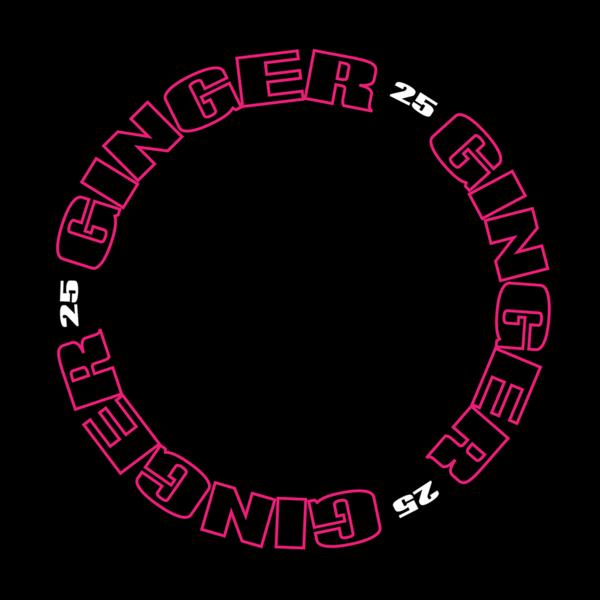 Spice Girls: Spice 25 Slipmat 'Ginger' Spice