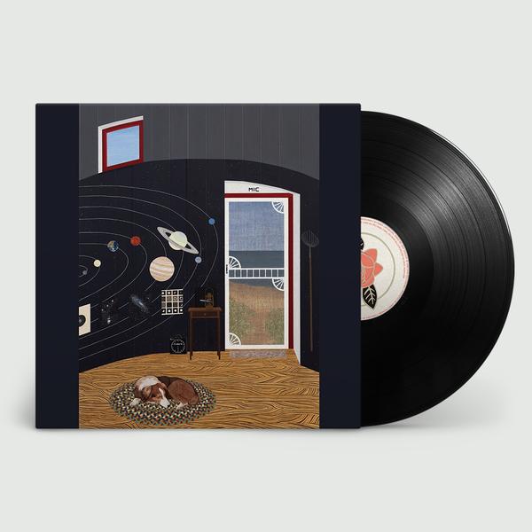 Mary Lattimore: Silver Ladders: Black Night Sky Vinyl