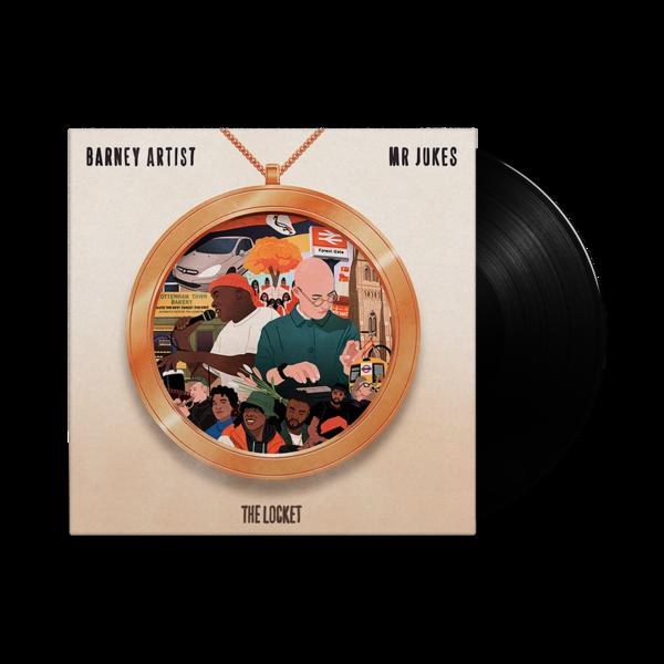 Mr Jukes and Barney Artist: The Locket: Deluxe Die-Cut Vinyl LP + *SIGNED* Art Print