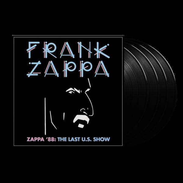 Frank Zappa: Zappa '88: The Last U.S. Show: Quadruple Vinyl
