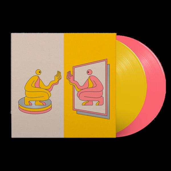 DJ Seinfeld: Mirrors: Pantone Pink + Yellow Vinyl 2LP