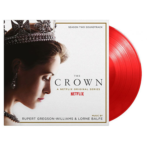 Original Soundtrack: The Crown Season Two: SOV UK Exclusive Limited Red Vinyl
