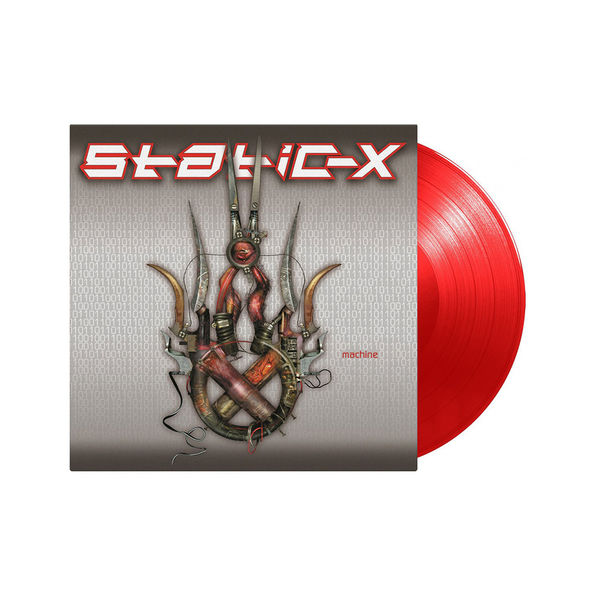 Static X: Machine: Limited Edition Transparent Red Vinyl