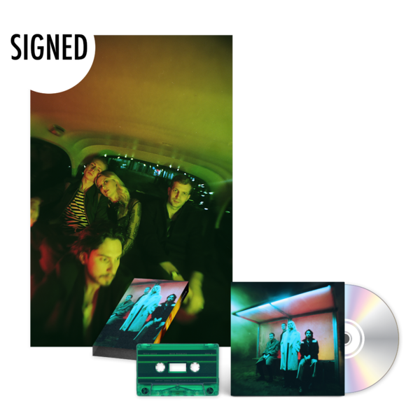 Wolf Alice: Blue Weekend CD Set & Signed Poster