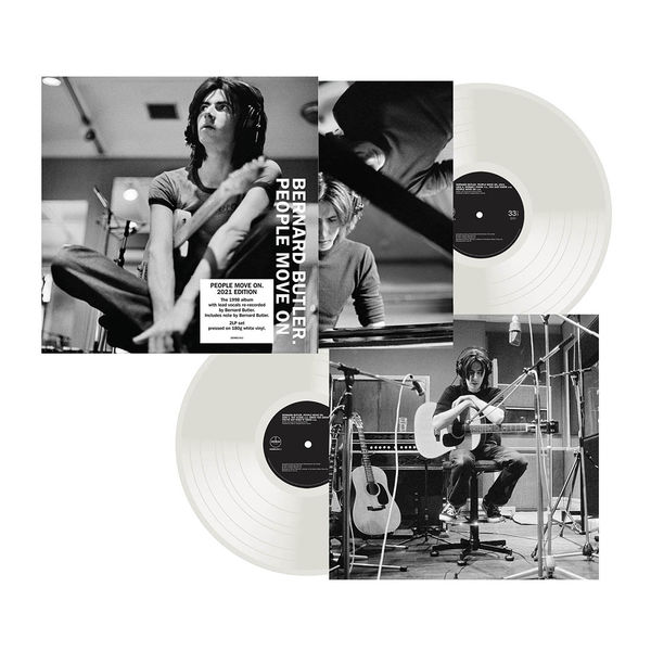 Bernard Butler (Suede): People Move On - New 2021 Recording: Limited Edition 180g White Vinyl
