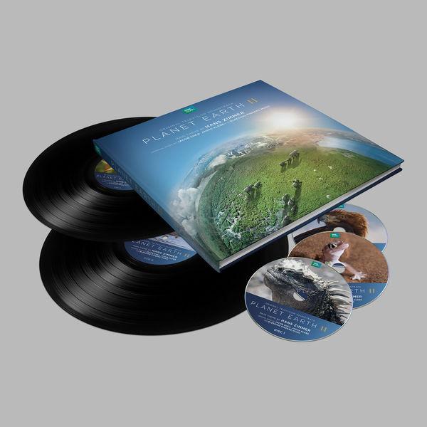 Hans Zimmer: Planet Earth II: Deluxe Edition (Book, 2LP, 3CD)