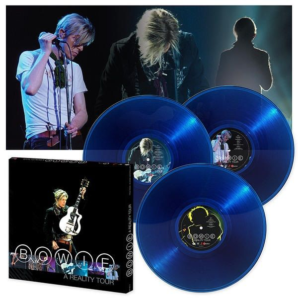 David Bowie: A Reality Tour: Translucent Triple Vinyl