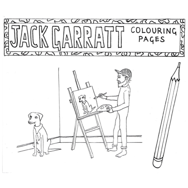 Jack Garratt: JG Colouring Pages