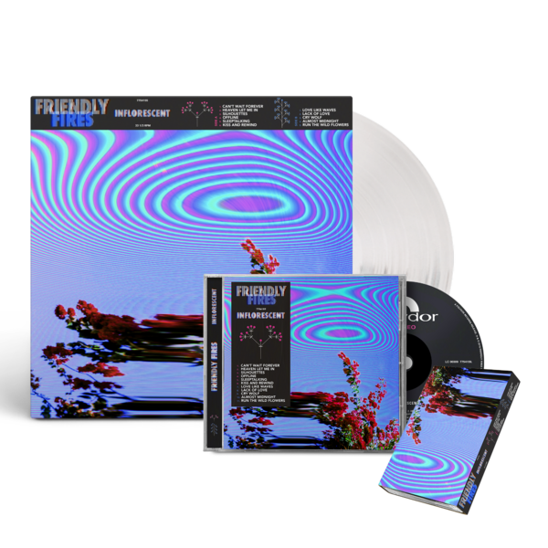 Friendly Fires: Signed Inflorescent Music Bundle