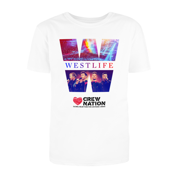 Westlife: Limited Edition Crew Nation T-Shirt