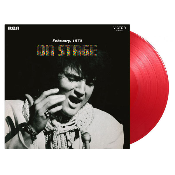 Elvis Presley: On Stage: Limited Edition Red Vinyl