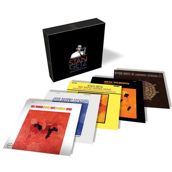 Stan Getz: Stan Getz: Bossa Nova Years 5CD