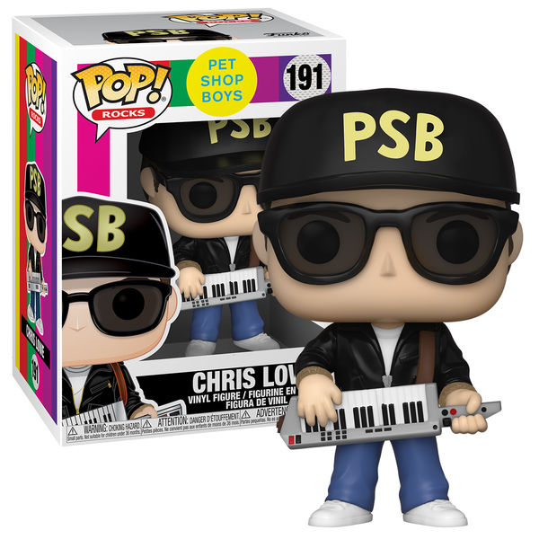 Pet Shop Boys: Pop! Rocks: 'Chris' vinyl figurine