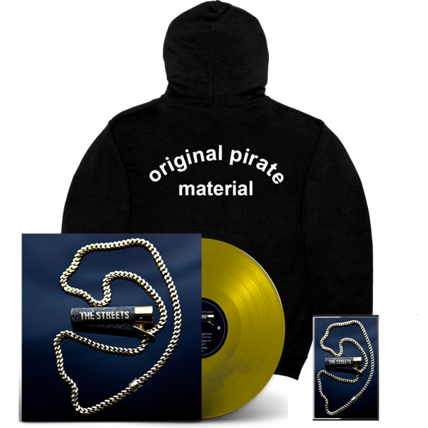 The Streets: None Of Us Are Getting Out Of This Life Alive: Gold LP, Cassette + OPM Hoodie