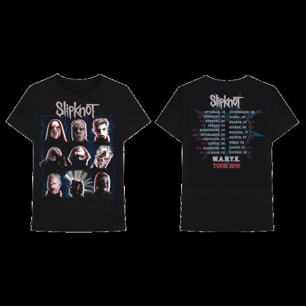 Slipknot: Scanner Dateback Tshirt
