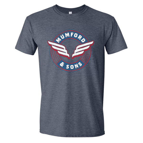 Mumford & Sons : Wing Emblem T-Shirt - XL