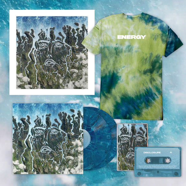Disclosure: LIMITED EDITION TIE DYE TEE, ECO VINYL, SIGNED LITHO + CASSETTE