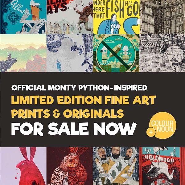 Monty Python: Colour + Noun Art Store