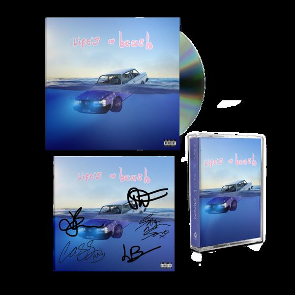 Easy Life: life's a beach: cd, cassette + signed art card