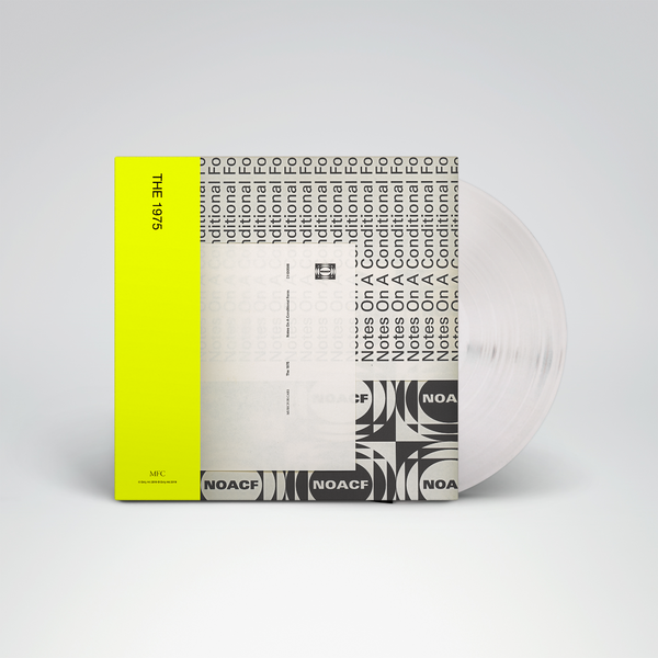 The 1975: NOTES ON A CONDITIONAL FORM – 140G DOUBLE GATEFOLD PURE CLEAR VINYL