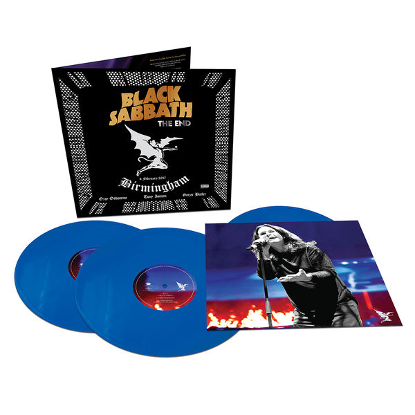Black Sabbath: The End: Limited Edition Triple Blue Vinyl