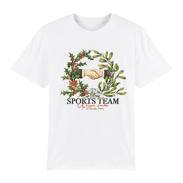 Sports Team: Forum Show White Tee - M