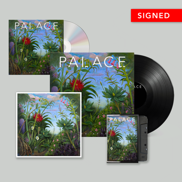Palace: Vinyl, CD, Cassette & Signed Print