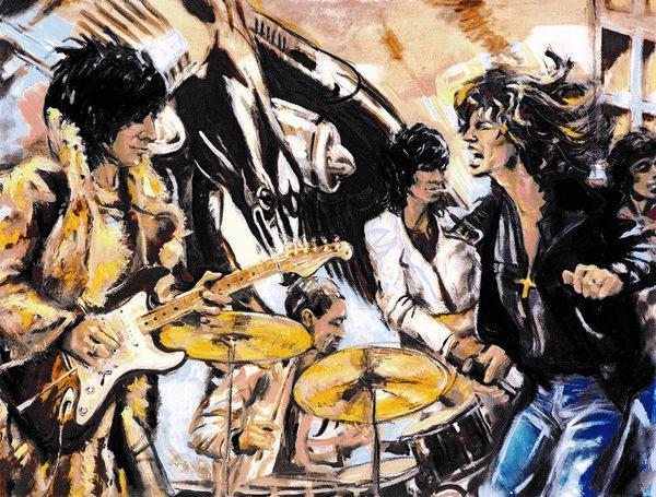 Ronnie Wood: Flatbed '75