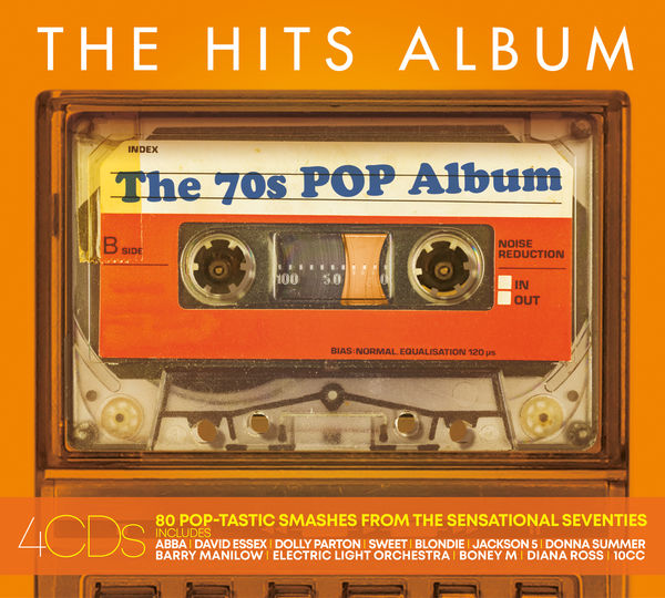 Various Artists: THE HITS ALBUM - THE 70'S POP ALBUM