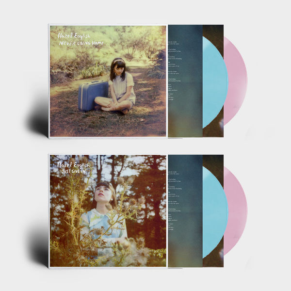 Hazel English: Just Give In / Never Going Home: Pink + Blue Vinyl