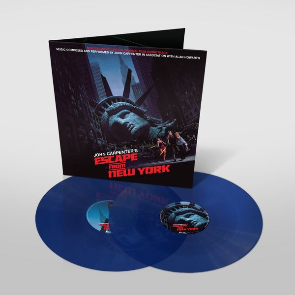 Original Soundtrack: Escape From New York: Limited Edition Gatefold Sleeve Blue Vinyl