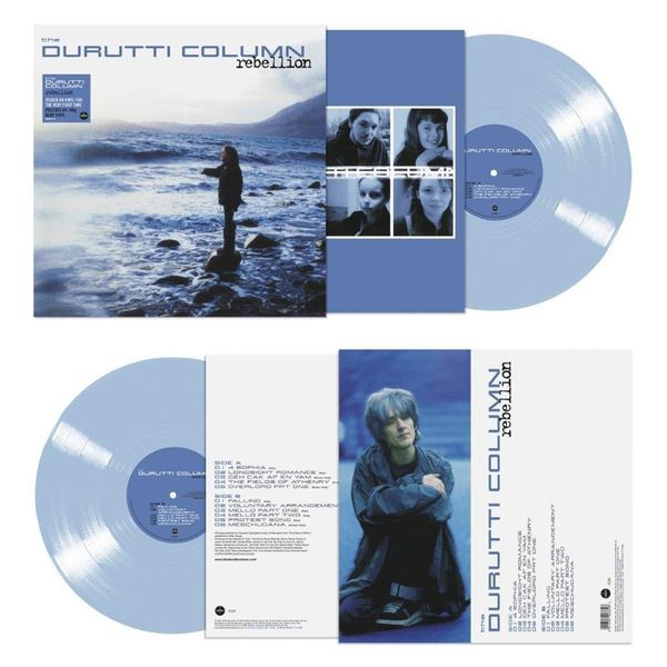 The Durutti Column: Rebellion: Limited Edition Blue Vinyl
