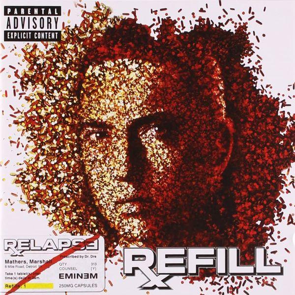 Eminem: RELAPSE: REFILL CD
