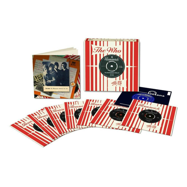 "The Who: The Brunswick Singles 1965-1966: 7"" Box Set"