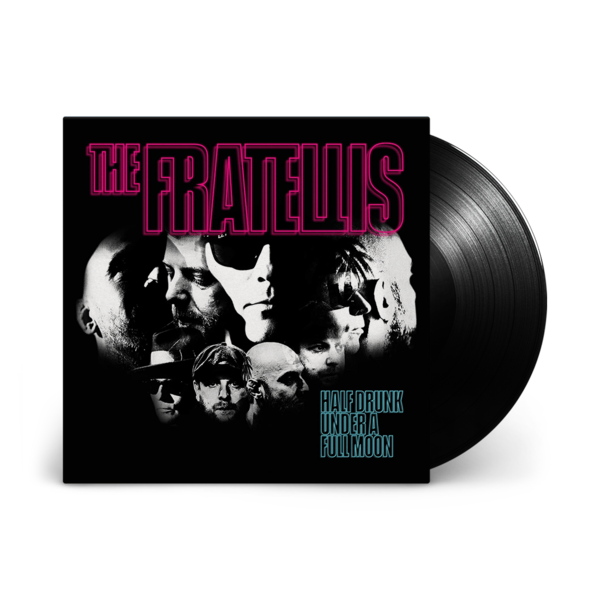 The Fratellis: Half Drunk Under a Full Moon: Black Vinyl LP