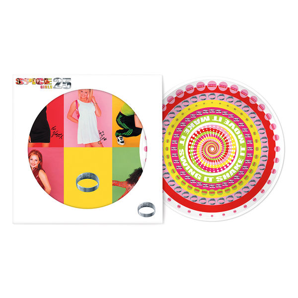 Spice Girls: Spice - 25th Anniversary (Zoetrope Picture Disc)