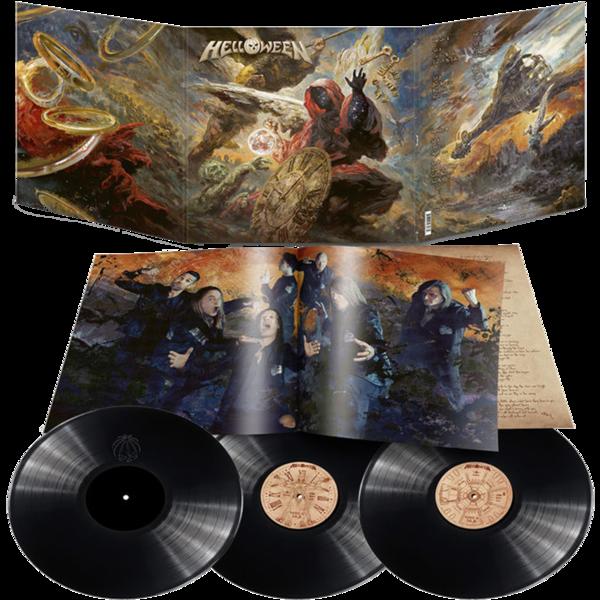 Helloween: Helloween: Limited Edition Trifold 180gm Vinyl 3LP + Hologram