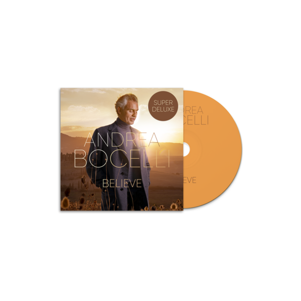 Andrea Bocelli: Believe Super Deluxe: Store Exclusive