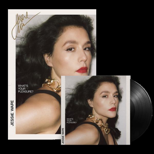 Jessie Ware: LP & Ltd Ed Hand Numbered Signed Album Art Print