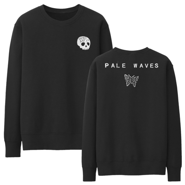Pale Waves: Skull Sweatshirt + Red Cassette