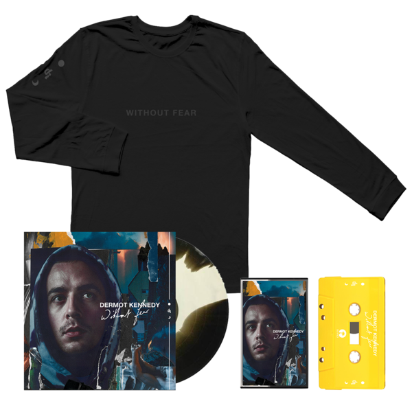 Dermot Kennedy: Blue Cassette, Marbled LP + Black on Black Hoodie