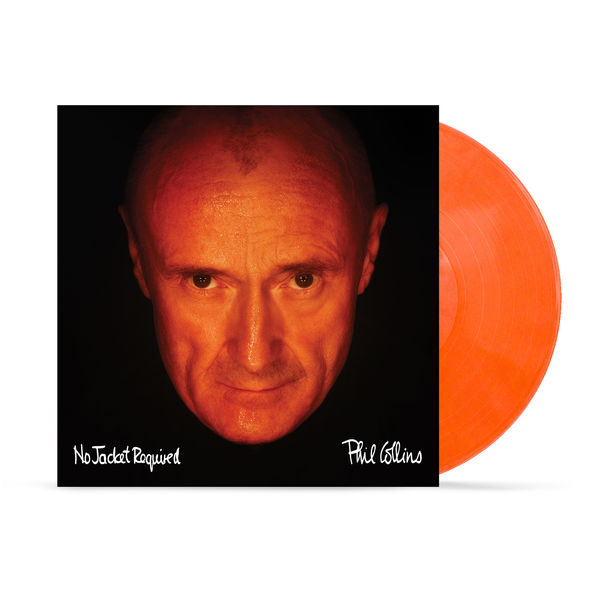 Phil Collins: No Jacket Required: Limited Edition Orange Vinyl
