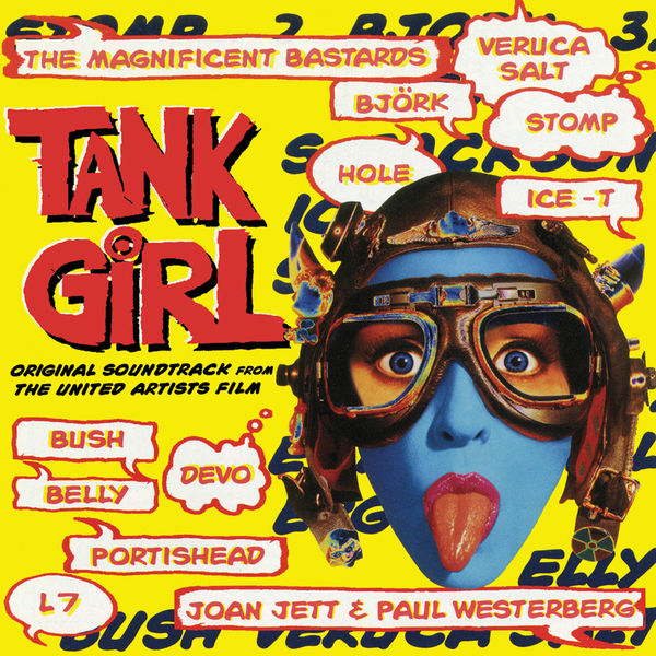 Various Artists: Tank Girl: Original Soundtrack: Aqua Blue Limited Edition Vinyl