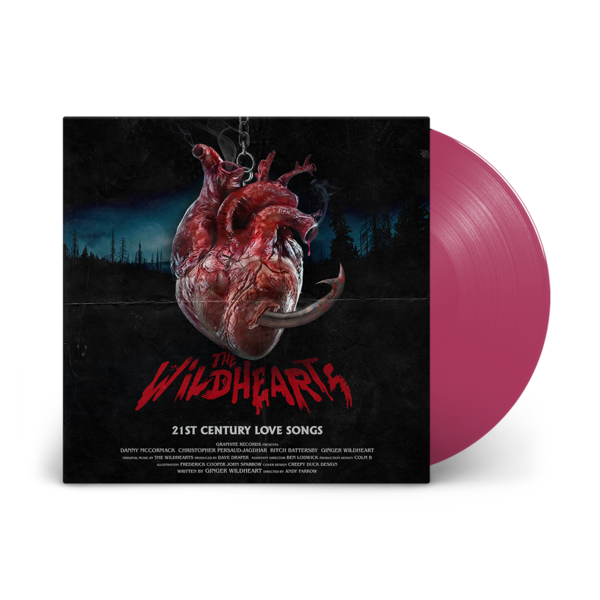 The Wildhearts: 21st Century Love Songs: Limited Edition Purple Rain Vinyl LP
