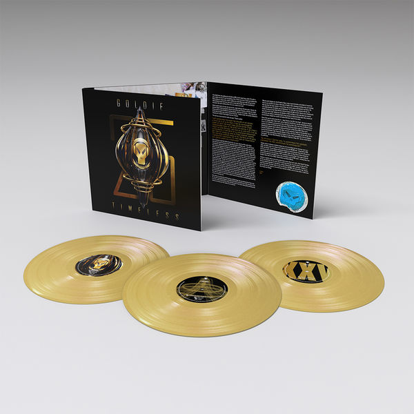 Goldie: Timeless (25 Year Anniversary Edition): Limited Triple Gold Vinyl