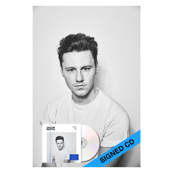 Callum Beattie: 'People Like Us' Signed Scottish Deluxe Edition & A2 Poster Bundle