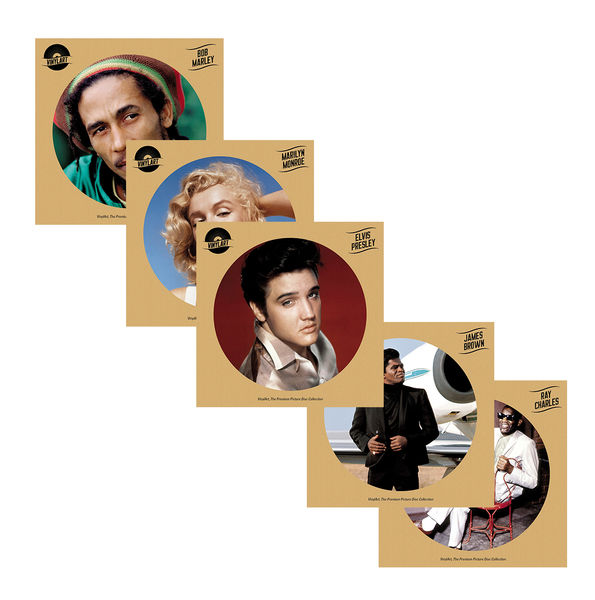 Various Artists: VinylArt - 5 Album Picture Disc Bundle