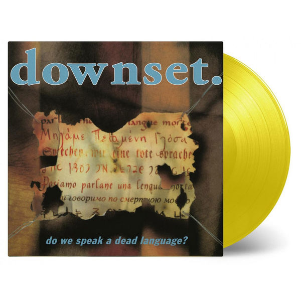 Downset: Do We Speak A Dead Language: Numbered Yellow Vinyl